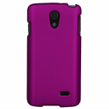 LG Lucid 3 Snap On Shield - Purple