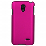 LG Lucid 3 Snap On Shield - Rose Pink