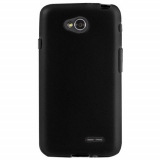 LG Optimus L70 TPU Shield - Inject Black