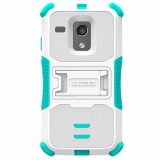 Motorola Moto G TriShield Case - White/Light Blue