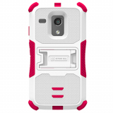 Motorola Moto G TriShield Case - White/Hot Pink