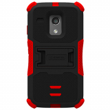 Motorola Moto G TriShield Case - Black/Red