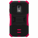 Motorola Moto G TriShield Case - Black/Hot Pink