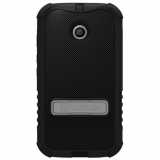Motorola Moto E Beyond Cell Tri Shield Case - Black/Black