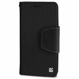 Motorola Moto X (2nd Gen) Beyond Cell Infolio Leather Case - Black