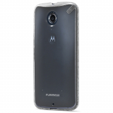 Motorola Nexus 6 PureGear Slim Shell Case - Clear
