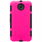 Motorola Nexus 6 Trident Aegis Series Case - Hot Pink/Black