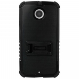 Motorola Moto X (2nd Gen) Beyond Cell Tri Shield Case - Black