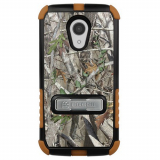 Motorola Moto G 2nd Generation Beyond Cell Tri Shield Case - Autumn Camo