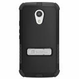 Motorola Moto G 2nd Generation Beyond Cell Tri Shield Case - Black