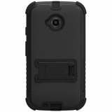 Motorola Moto E (2nd Gen) Beyond Cell Tri Shield Case - Black/Black