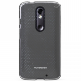 Motorola Droid Turbo 2 PureGear Slim Shell Case - Clear/Clear