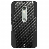 Motorola Droid Maxx 2 Beyond Cell Shell Case Hyber Series Case - Black Carbon