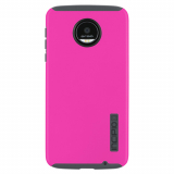 Motorola Moto Z Force Droid Incipio DualPro Case - Pink/Gray
