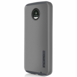 Motorola Moto Z Play Droid Incipio DualPro Series Case - Iridescent Gray/Gray