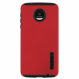 Motorola Moto Z Play Droid Incipio DualPro Series Case - Iridescent Red/Black