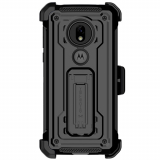 Motorola Moto G7 Play Ghostek Iron Armor 2 Series Case - Black