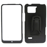 Motorola Droid Bionic Flex Body Glove Case - Black