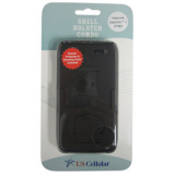 Motorola Electrify 2 US Cellular Packaged Holster Shield Combo - Black