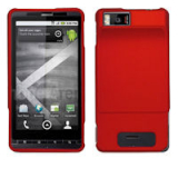 Motorola Droid X/X2 Snap On Shield - Red