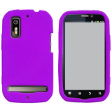 Motorola Electrify/Photon 4G Silicone Shield - Purple
