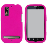 Motorola Electrify/Photon 4G Silicone Shield - Hot Pink