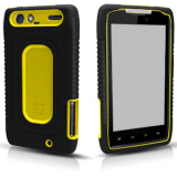 Motorola Droid Razr Duo Shield - Black/Yellow