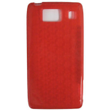 Motorola Droid Razr HD TPU Shield - Red
