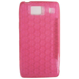Motorola Droid Razr HD TPU Shield - Hot Pink