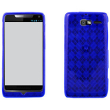 Motorola Electrify M/Razr M TPU Shield - Blue