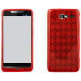 Motorola Electrify M/Razr M TPU Shield - Red