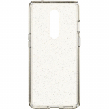 **NEW**OnePlus 8 5G Speck Presidio Perfect Clear Glitter Case - Clear with Gold Glitter/Clear