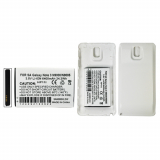 Samsung Galaxy Note 3 6400mAh Extended Standard Battery With White Door