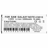 Samsung Galaxy Note 4 Standard Replacement Battery 3200mAh with NFC