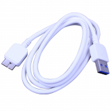 Samsung Galaxy Note 3 to USB Data Cable - White