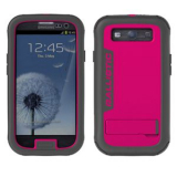 Samsung Galaxy S III Ballistic Every1 Series Case - Gray/Pink