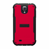 Samsung Galaxy S4 Trident Cyclops Series Case - Red