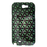 Samsung Galaxy Note II 3D Onion Case - Lime Green/Black