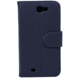 Samsung Galaxy Note II Onion Flip Case - Black