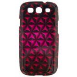 Samsung Galaxy S III 3D Onion Case - Hot Pink/Black