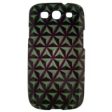 Samsung Galaxy S III 3D Onion Case - Lime Green/Black