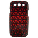 Samsung Galaxy S III 3D Onion Case - Burnt Orange/Black
