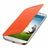 Samsung Galaxy S4 OEM Flip Cover - Orange