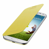 Samsung Galaxy S4 OEM Flip Cover - Yellow