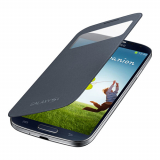 Samsung Galaxy S4 OEM S View Flip Cover - Black