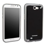 Samsung Galaxy Note II Pure Gear Slim Shell Case - Black Tea