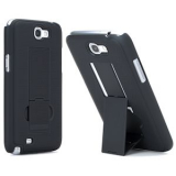 Samsung Galaxy Note II Pure Gear Kickstand Shell - Black