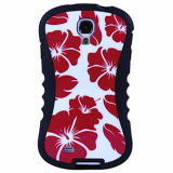 Samsung Galaxy S4 Onion Thin Waist Case - Hawaiian Flower