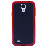Samsung Galaxy S4 Onion Cubic Case - Black/Red