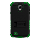 Samsung Galaxy S4 Active TriShield Case - Black/Dark Green